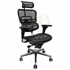 NEW BLACK Mesh Office Chair Raynor Ergohuman ME7ERG