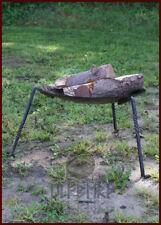 Fire-bowl w/ remov. legs, medieval roman camp gear kitchen LARP SCA Reenactment