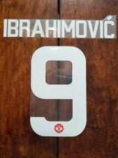 2016/17UEFA Manchester United IBRAHIMOVIC HOME AWAY Europa League Nameset WINNER