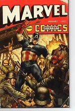 Marvel Comics #1000 Mark Brooks Captain America 40s Variant NM