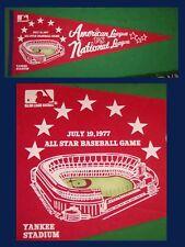 OLD 1977 New York Yankees Baseball All Star Pennant! WOW!