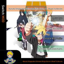 Naruto Shippuden Ultimate Ninja Storm 4  (Switch Mod)- Max Ryo/Items/Outfit