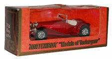 "Matchbox 1/35 1934 Riley MPH Red ""Models of Yesteryear"""