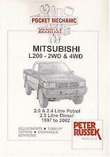 Mitsubishi L200 2/4WD 2.0/2.4 petrol / 2.5 diesel 97-02