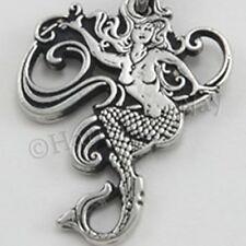 DRUID MERMAID Pendant Necklace Myth, Magic & Power Dahud Pagan Goddess