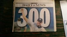 JUNE 14, 2003 NEW YORK DAILY NEWS - ROGER CLEMENS WINS 300!