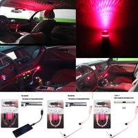 Car USB Star Sky Projection Lamp Night Light Romantic Galaxy Lighting Decor
