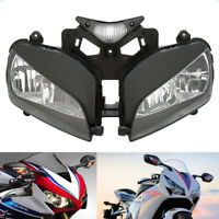HEADLIGHT HEAD LAMP ASSEMBLY FOR 2004-2007 HONDA CBR 1000RR 1000 RR 2005 2006