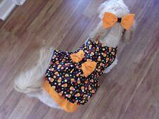 dog dress, yummy candy corn,Halloween,Fall, Small*(read size details)