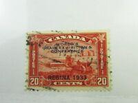 1933 Canada SC #203 WORLD GRAIN EXHIBITION & CONFERENCE used F-VF