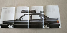 Audi 90 quattro Typ 85 Prospekt Broschüre 09/84