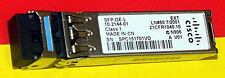 GENUINE CISCO SFP-GE-L 1000BASE-LX/LH TMMF, SMF DOM Support 3xAvailable
