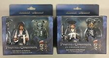 Kubrick PIRATES OF THE CARIBBEAN set of TWO 2-figure packs NEW SEALED Canada