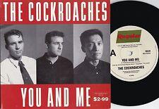 Cockroaches ORIG OZ GF PS 2X45 You and me EX '88 Regular K639 Pop Rock Wiggles
