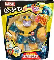 "Heroes of Goo Jit Zu Marvel Supagoo Hero Pack - Large Thanos 8"" NEW 2020"