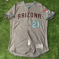Zach Greinke Arizona Dbacks Player Issued Jersey MLB Authenticated Astros