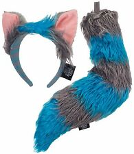 Disney Alice in Wonderland Looking Through the Glass Cheshire Ears & Tail Elope