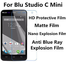 3pcs For Blu Studio C Mini High Clear/Matte/Nano Explosion/Anti Blue Ray Film