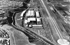 Photo: Wide Field Aerial: Howard Hughes' Aircraft Culver City Plant, 1940's