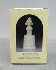 "Precious Moments 1985 ""God is Love Dear Valentine"" (S3)"