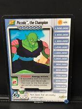 Dbz Ccg Piccolo The Champion Lv2 Starter Rare 171 Cell Saga Score Limited