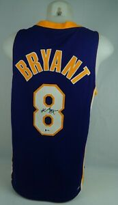 Kobe Bryant Autographed Signed Lakers Authentic Nike Jersey PSA DNA & Beckett