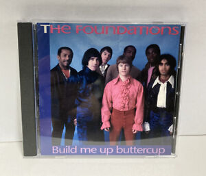 THE FOUNDATIONS | BUILD ME UP BUTTERCUP | CD | VGC | RARE