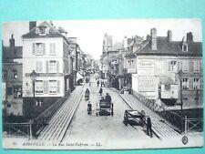 80 ,abbeville ,la rue saint vulfran en 1916