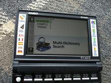 Casio EW-G6600C diccionarios electrónicos para alemán, inglés, francés y español