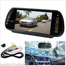 Car Rear View Mirror Monitor 16:9 HD USB SD Bluetooth MP5 7inch TFT LCD Color FM