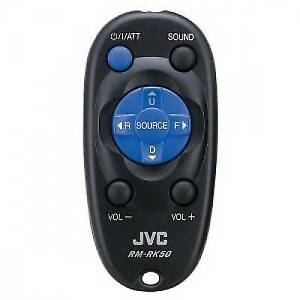 JVC RM-RK50P RMRK50P CD DVD CAR STEREO WIRELESS REMOTE