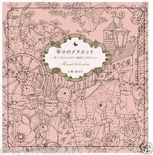 Shiawase no Minuet Menuet de bonheur Coloring Book