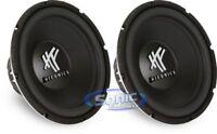"2) HIFONICS HFX12D4 12"" 1600W RMS Car Audio DVC Subwoofers Bass Subwoofers Subs"