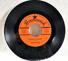 Jackie Wilson - Doggin' Around/Night - 1960 Brunswick Label #9-55166 - Good