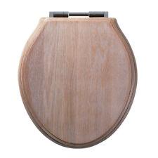 Roper Rhodes Greenwich Solid Limed Oak Toilet Seat 8099slisc