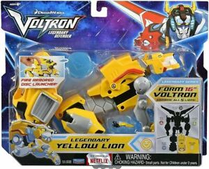 Voltron Legendary Defender Yellow Lion Combinable Action Figure