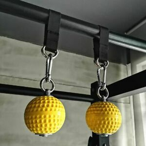 Pull Up Balls Cannon Rope Cable Home Workout Fitness Gym Muscle Triceps Train