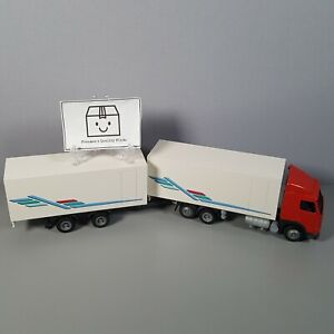 Conrad Volvo Truck Lorry FH12 With Double Trailer / 5 Axles (West Germany)