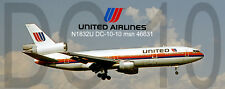 United Airlines DC-10 Handmade Photo Magnet (PMT1636)