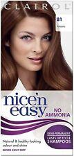 Clairol Nice'n Easy Semi-Permanent Hair Dye No Ammonia 81 Mahogany New UK