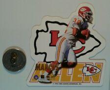 Marcus Allen Kansas City Chiefs NFL football die-cut Fridge Magnet NOS 1996
