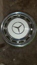 4 Radkappen Mercedes Benz     Metall Chrom/Weiß