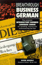 Breakthrough Business German, Wessels, Dieter | Paperback Book | Good | 97803335