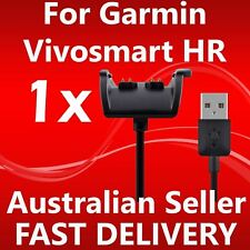 Replacement Garmin Vivosmart HR USB Charging Cable and Clip