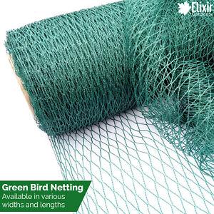 Green Bird & Wildlife Netting | Fruit, Vegetable, Plant, Crop & Pond Protection
