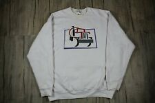 Vintage 80s Colorful Cement Truck Sweatshirt Size XXL Made In USA