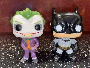 Funko Pop - DC Comics - Batman and Joker - VGC