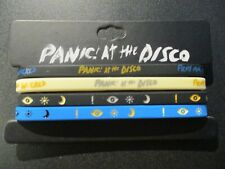 PANIC AT THE DISCO 4 Rubber BRACELET SET pray for wicked friends were glorious