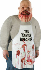 Morris Costumes Adult Unisex Family Butcher Latex Cloth Apron One Size. 1002BSC