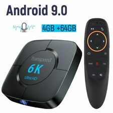 Android 9.0 4G 64G TV BOX 6K Youtube Google Assistant 3D Video TV receiver Wifi